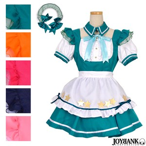 8mm Maid Fresh Star Cosplay Costume Color 5 Colors