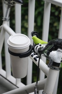BIRD Bird Bike Cup Holder Small Birds Motif Bicycle Cup Holder