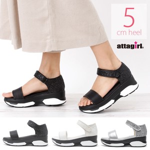 S/S Wedged Heel Ankle Belt Sandal