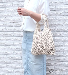 Merry Macrame Handbag Natural Material Bag