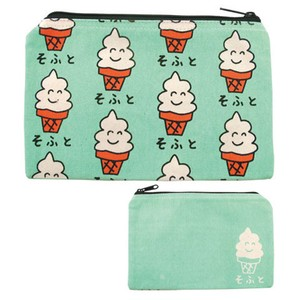 Pouch Cosme Pouch Pencil Case Accessory Case American Mask Pouch