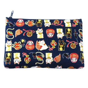 Japanese Style Cat Pouch 3 Colors Assort