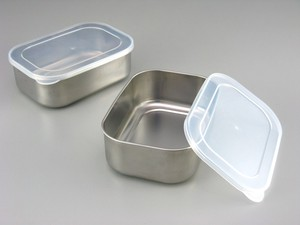 Stainless Deep Storage Container 2 Pcs
