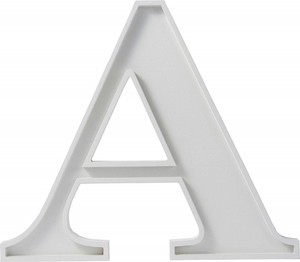 【雑貨】アルファベットベース A