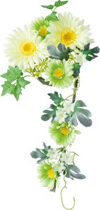 Object and Ornament Artificial Flower Gerbera Ring Wreath