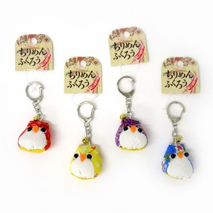 Japanese Style Key Ring Crape Owl Key Ring