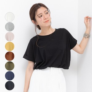 [2019NewItem] Crew Neck Round Pocket T-shirt mitis