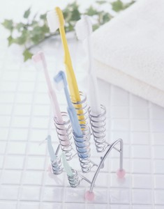 Ring Toothbrush Stand Interdental Brush Stand Up