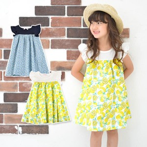 S/S Toddler Fabric One-piece Dress 30cm