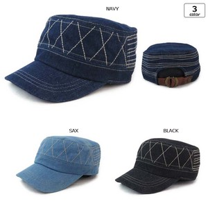 [2019NewItem] Denim Military Cap