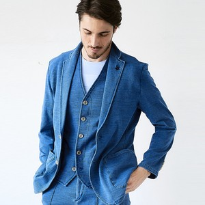 Indigo Jersey Light Jacket
