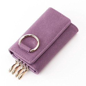 Ring Motif Key Case Di Ladies Four in a Row