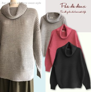 Ladies A/W Turtle Knitted