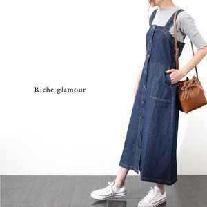 [2019NewItem] Denim One‐piece dress.