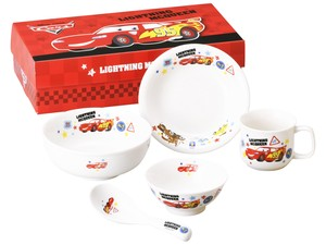 Car's Friends Children Plates & Utensil Gift Set Pottery