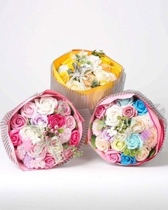 Special Soap Flower Bouquet Size L 3 Colors