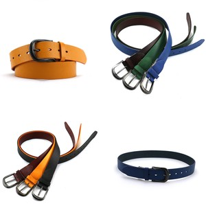 Color Leather Belt