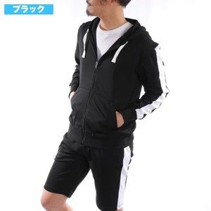 [2019NewItem] Line Hoody Shorts Suit Set Set