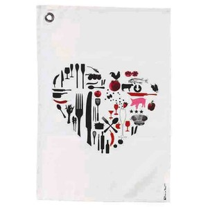 Kitchen Towel Heart