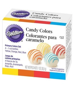 WILTON Candy Vivid Candy Color Set