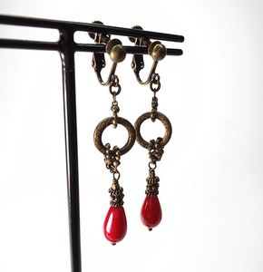 Red Earring
