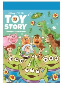Disney Memo Pad Toy Story