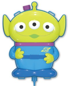 Disney Toy Story Die Cut Water Alien
