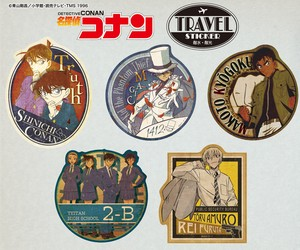 [ Detective Conan (Case Closed) ] Travel Sticker