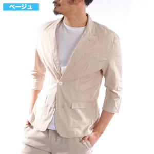 [2019NewItem] Three-Quarter Length Stretch Tailored Jacket Suit Set Jacket