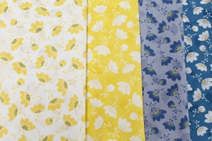 Fabric 4 Colors Floral Pattern Nylon Print