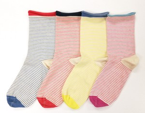 kieppi Cotton Socks Fine Border