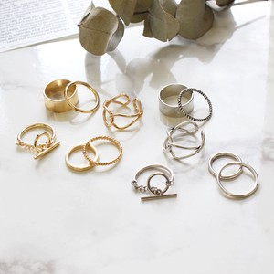 Ring 6 Pcs Set Ring Accessory Ring