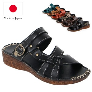 Sandal Belt Attached Flat Sandal Casual