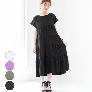Jersey Stretch Long One-piece Dress mitis