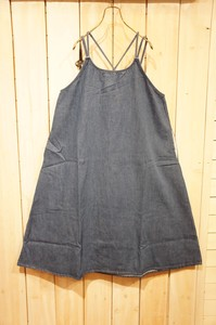 S/S Denim Camisole Skirt