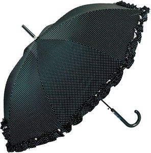 All Weather Umbrella pin Dot Frill