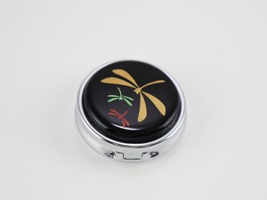 Case Dragonfly Echizen Lacquerware Compact