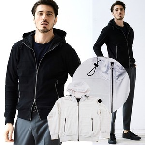 Jersey Stretch Bold Border Switch Hoody