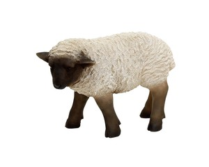 Cheerful Friends Sheep Motion Real Animal Mascot Ornament