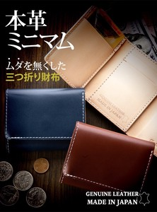 Compact Trifold Wallet