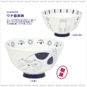 Cat Japanese Rice Bowl