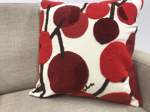 Plune Cushion Cover Tree Fruit Scandinavian Style Design