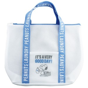 PEANUTS SNOOPY LAUNDRY WASH BAG TOTE SNOOPY