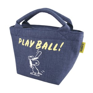 PEANUTS SNOOPY LUNCH BAG BASEBALL