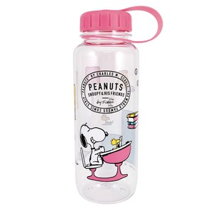 PEANUTS DRINK BOTTLE SCHOOL CLEAR