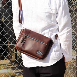Casual Unisex Leather Shoulder Bag
