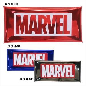 【ペンポーチ】MARVEL クリアマルチケース/メタルカラー