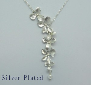 Silver Design Necklace