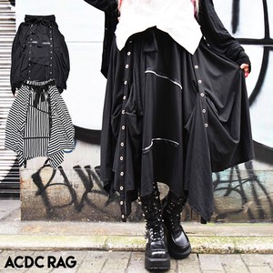 way Skirt Punk Gothic Mode Long Deformation Border ACDC RAG