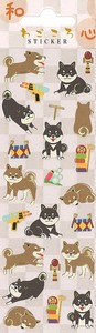 Japan Japan Shiba Dog Japanese Paper Sticker